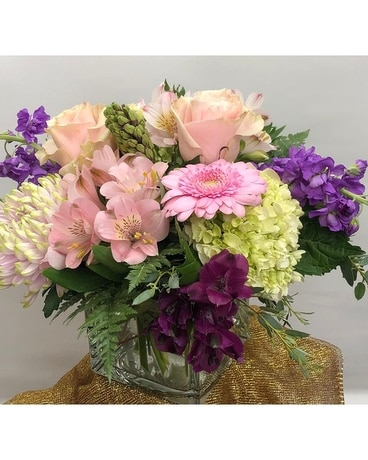 Pink Happiness Flower Arrangement