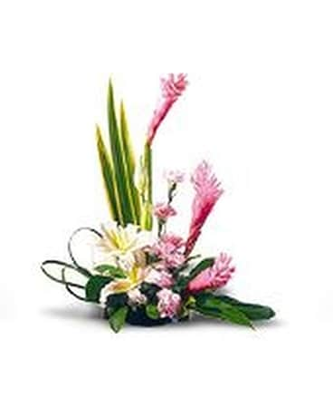 Shocking Pink Ginger Flower Arrangement
