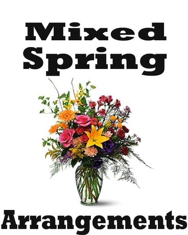 Mixed Spring Arrangement Flower Arrangement
