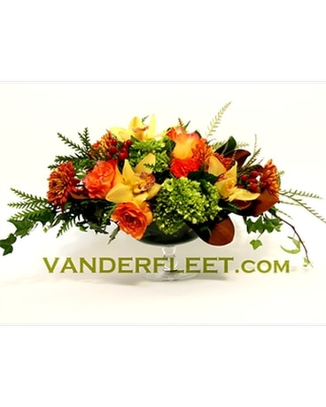 Sunrise Harvest Floral Centerpiece