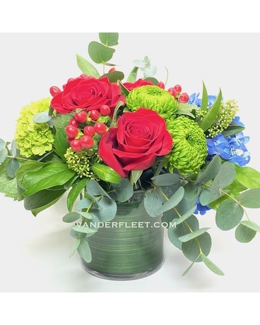 Love In Colour Floral Design Flower Arrangement