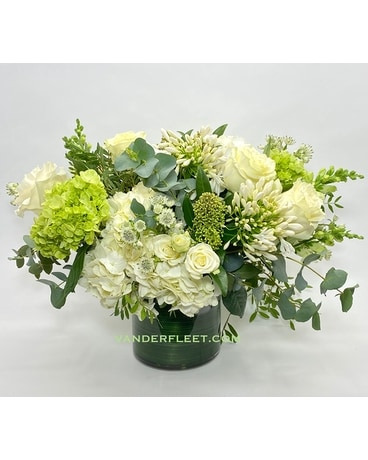 Elegant White Floral Design Flower Arrangement