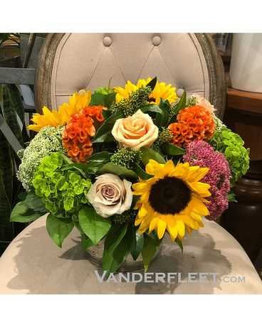 Chic Autumn Arrangement