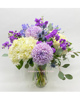Lavender Beauty Floral Design Flower Arrangement