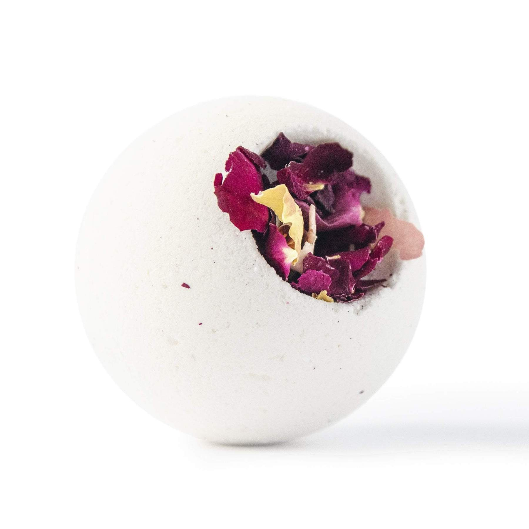 Chocolate and Bulgarian Rose Bath Bomb