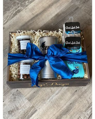 Graduation Gift Crate - Male Gift Basket