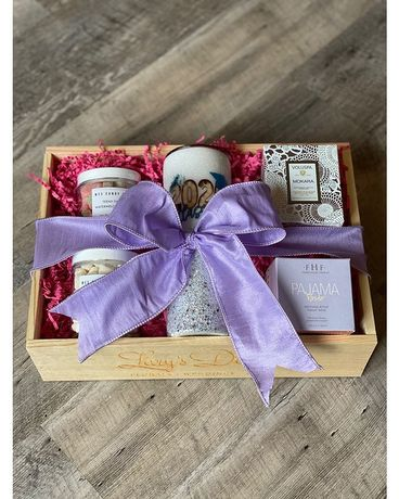 Graduation Gift Crate - Female Gift Basket