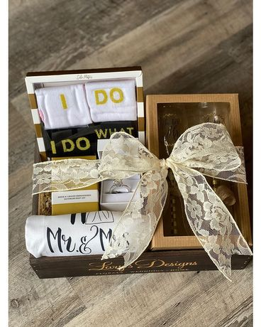 Wedding Gift Crate Gift Basket