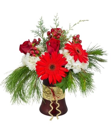 Fashionista Christmas Flower Arrangement