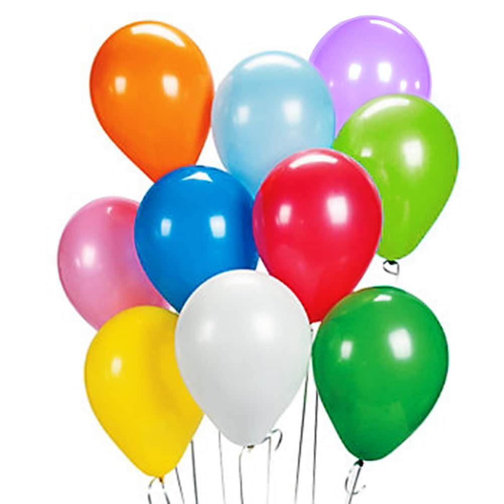 Latex Balloons (Assorted Colors)