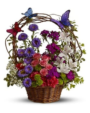 Dancing Butterfly Flower Arrangement