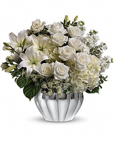 Teleflora's Gift Of Grace Bouquet Flower Arrangement