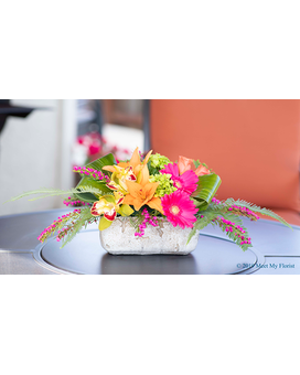 Hawaiian Sunset Flower Arrangement