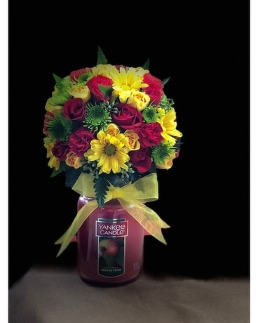 Yankee Candle Arrangement Flower Arrangement