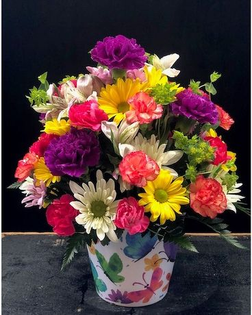 Assisted Living Facility Approved Arrangement Flower Arrangement