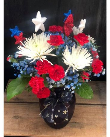 Summer Sparkler Flower Arrangement