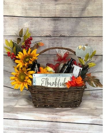 Autumn Gift Basket Deluxe Gifts