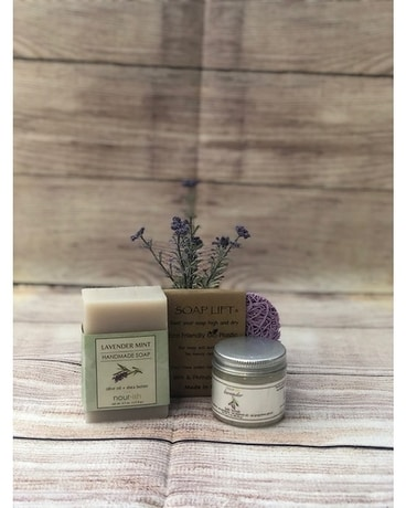 Nourish Soap & Scrub Set Gifts