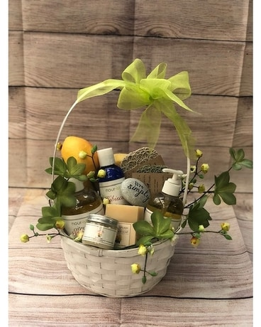 Nourish Bath & Body Citrus Gift Basket Gift Basket