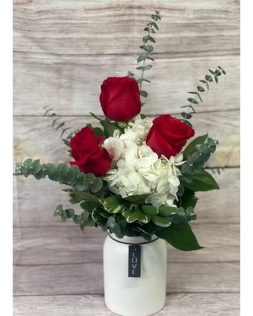 Cupid's Country Bouquet Flower Arrangement