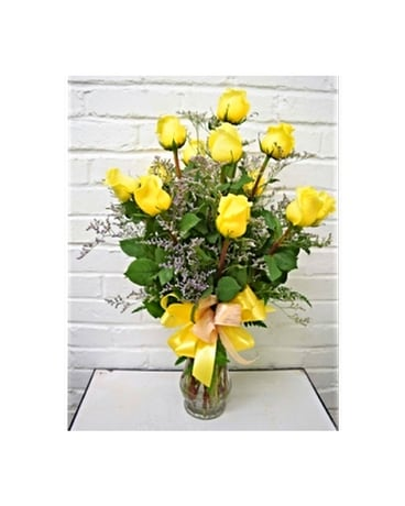 Sunny Day Yellow Roses Custom product