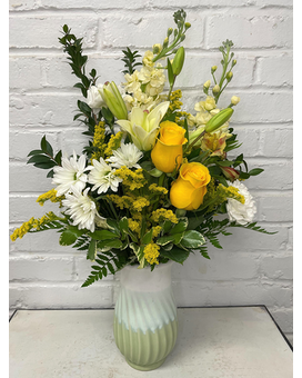 Art of Spring Flower Arrangement