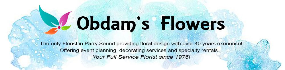 Flower Delivery to Parry Sound by Obdam's Flowers