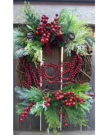 Berry Noel Wreath Custom product