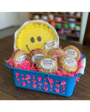 Iced Cookie Basket Gift Basket