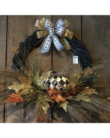 Glamorous Fall Wreath Custom product
