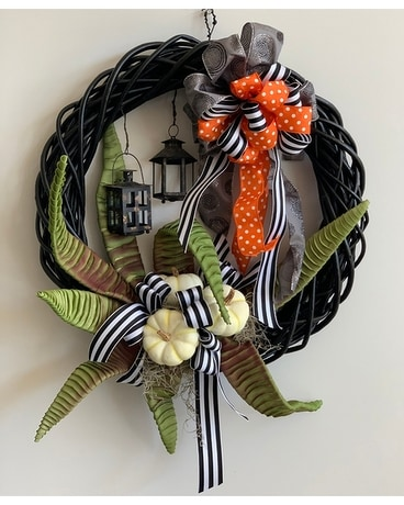 Halloween Lantern Wreath Custom product