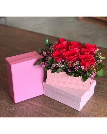 Bed Of Roses In Lawrence Ks Owens Flower Shop Inc