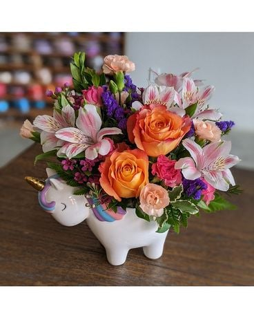 Magical Unicorn Flower Arrangement