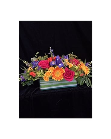 Color Theory - by Cedar Grove Gardens Flower Arrangement