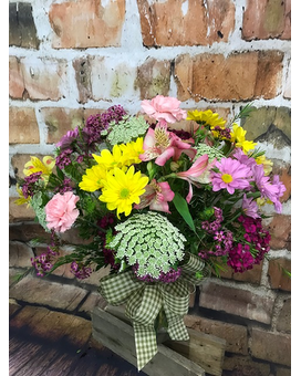 A Garden Gathering Flower Arrangement