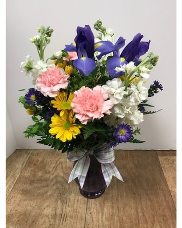 Sign of Spring Flower Arrangement