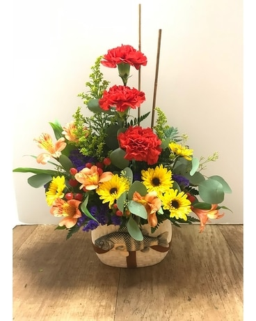 Fisherman's Dream Flower Arrangement