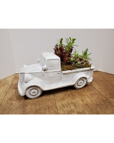 Vintage Ride Flower Arrangement