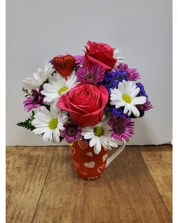 Whole Latte Love Flower Arrangement