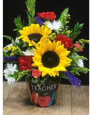 #1 Teacher Flower Arrangement