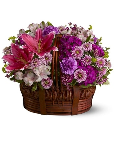 Basket of Bliss Flower Arrangement