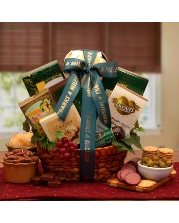Businesscorporate direct ship gift baskets delivery bound brook nj gourmet thank you 6695 quick view indulgent gourmet gift basket negle Image collections