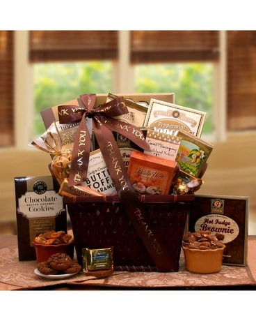 Thank you direct ship gift baskets delivery bound brook nj special thank you negle Image collections
