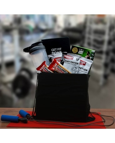 Get Fit! Fitness Gift Gift Basket