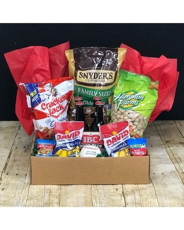 Play Ball! Gift Basket