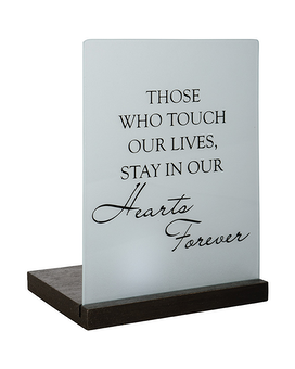 IN OUR HEARTS TEALIGHT 16952 Custom product