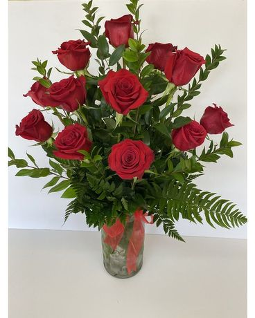 The Gorgeous Dozen by RFS Flower Arrangement