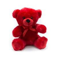 Red Colorama Bear 9 inch