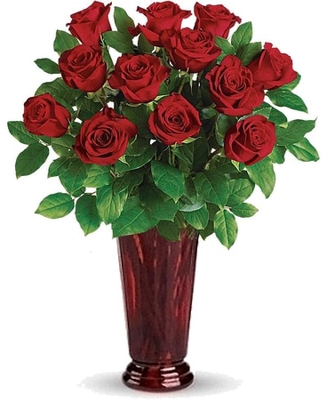Passionate Roses Flower Arrangement