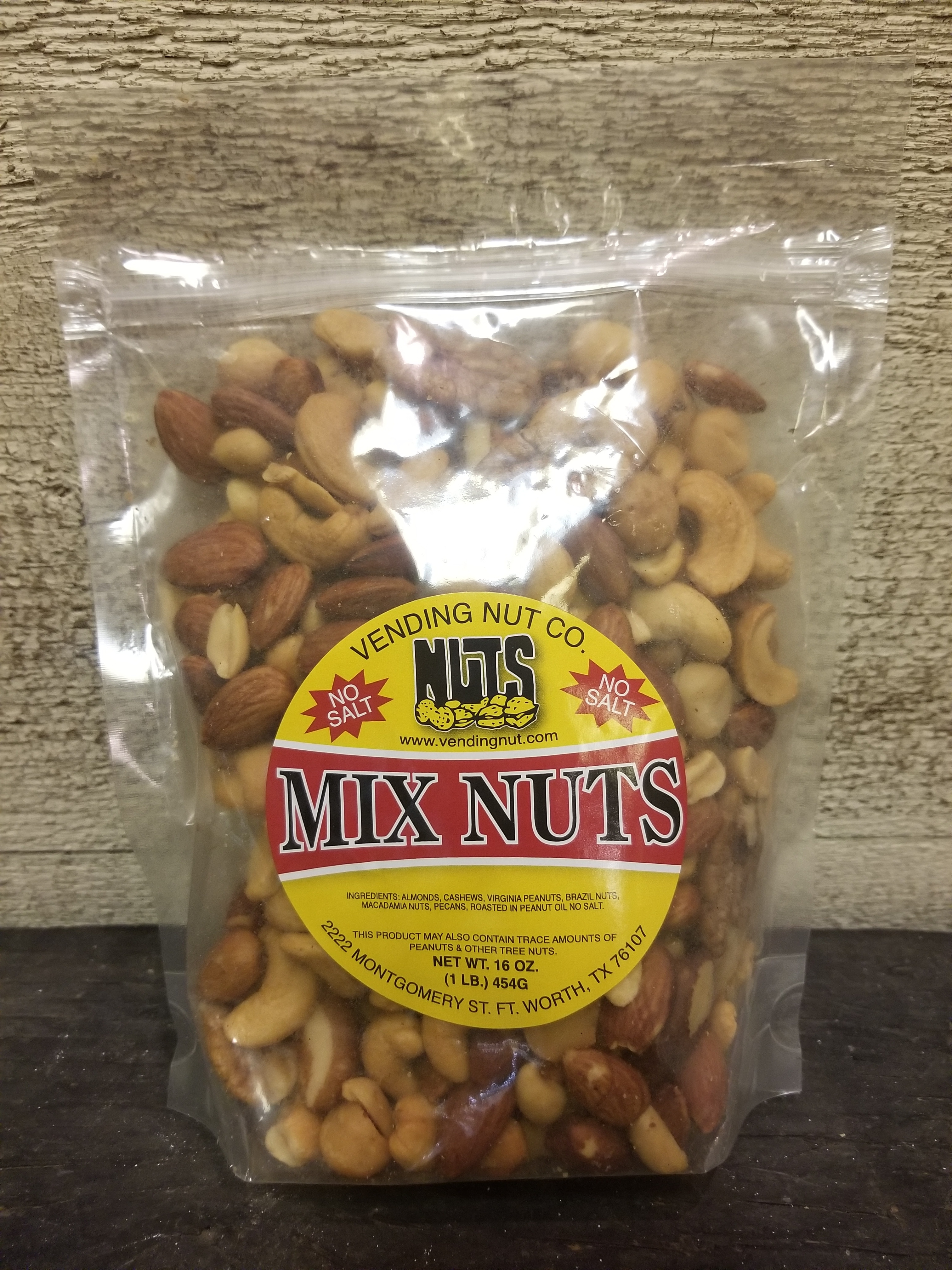 Vending Nut Co. Mixed Nuts